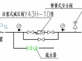 蒸汽管道减压阀组的安装