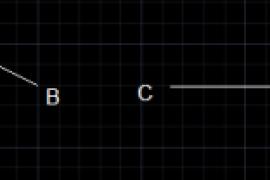 偏移的时候选取已知直线长度为参照--AutoCAD使用技巧